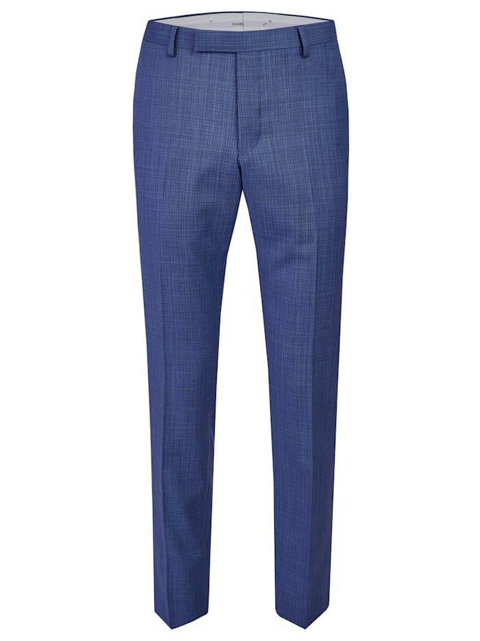 Daniel Hechter Edle Anzug-Hose mit elegantem minimal Karo, royal