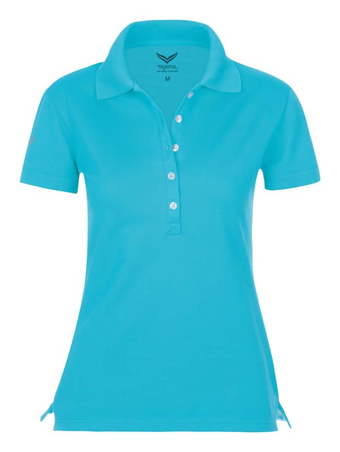 Damen Poloshirt mit Swarovski® Kristallen