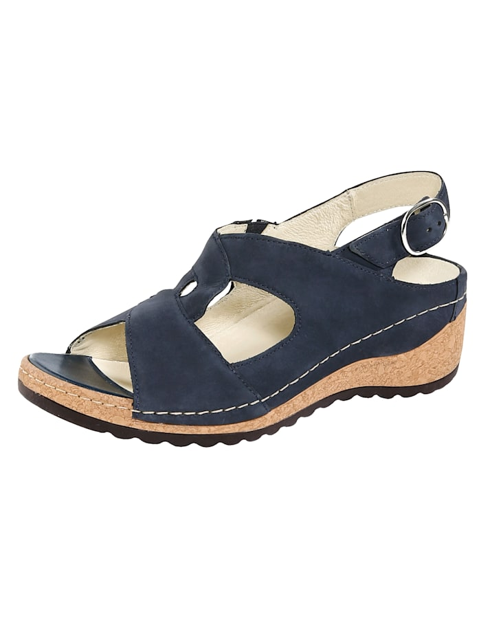 Waldläufer Sandals, Blue