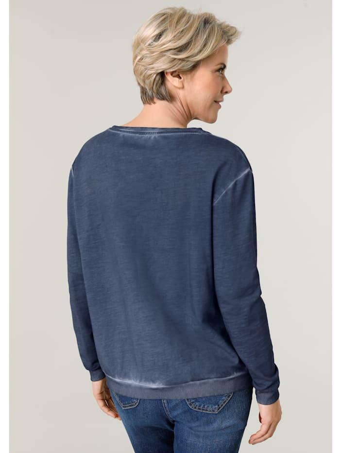 Sweatshirt met modieus kleurverloop