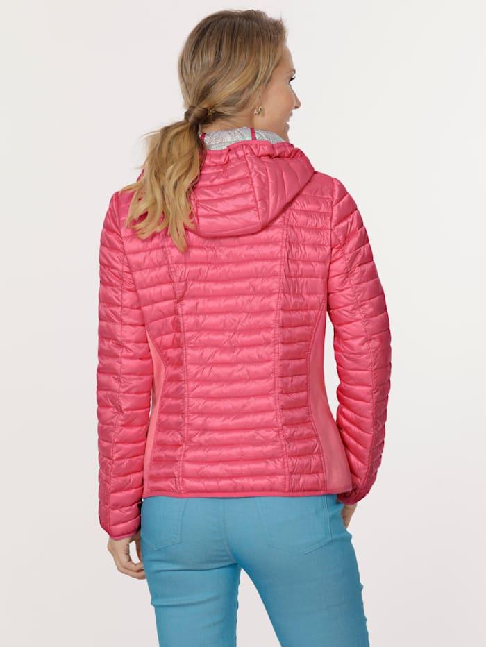 Jacke mit elastischem Einsatz