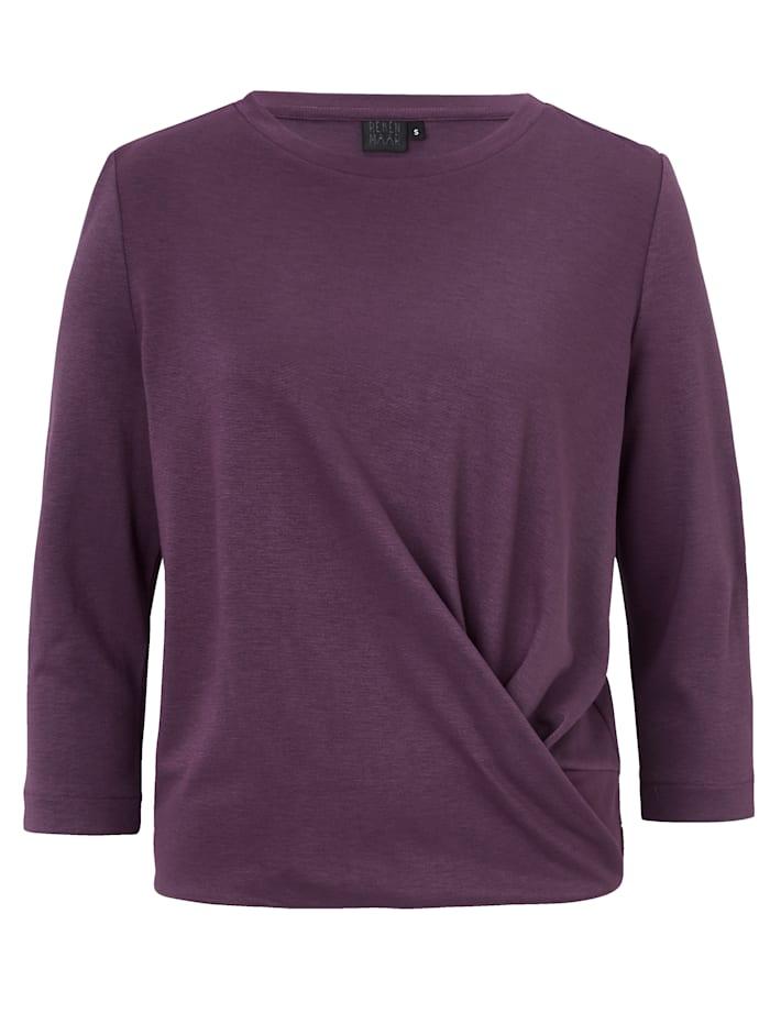 REKEN MAAR Sweatshirt, Violett