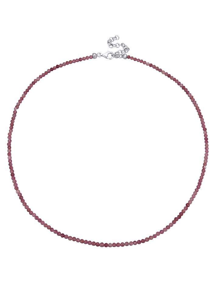 Halskette aus Turmalin, Rosé