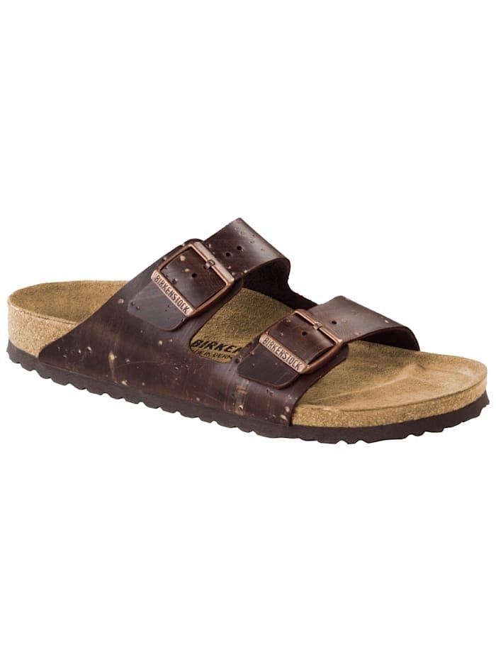 Birkenstock Sandale Arizona Leder normal, braun
