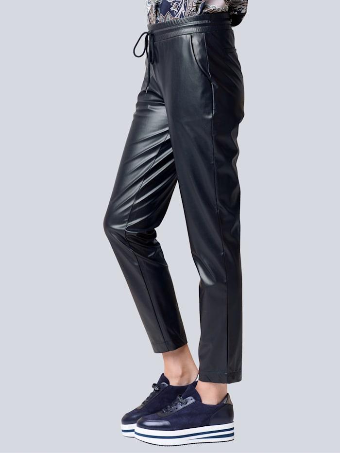 Broek in trendy jogpantstyle