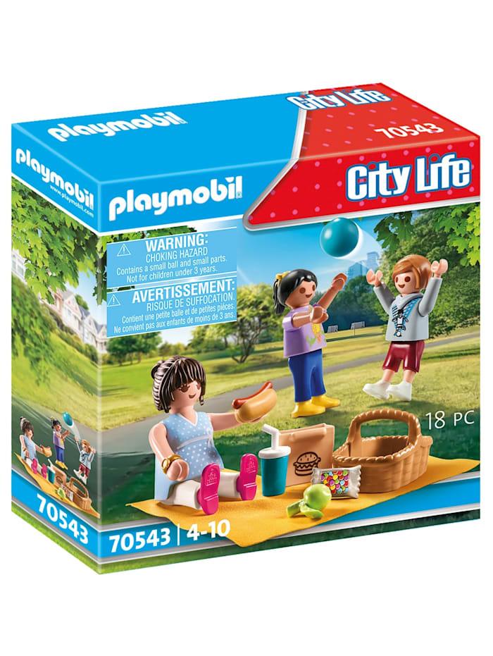 PLAYMOBIL Konstruktionsspielzeug Picknick im Park, Bunt