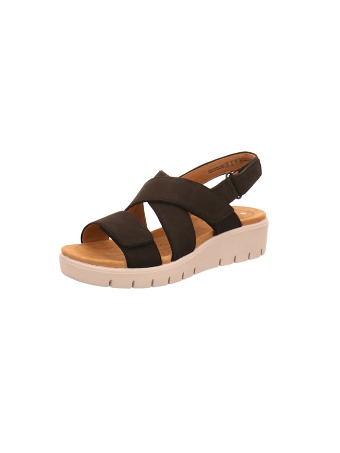 Clarks Sandalen/Sandaletten, schwarz