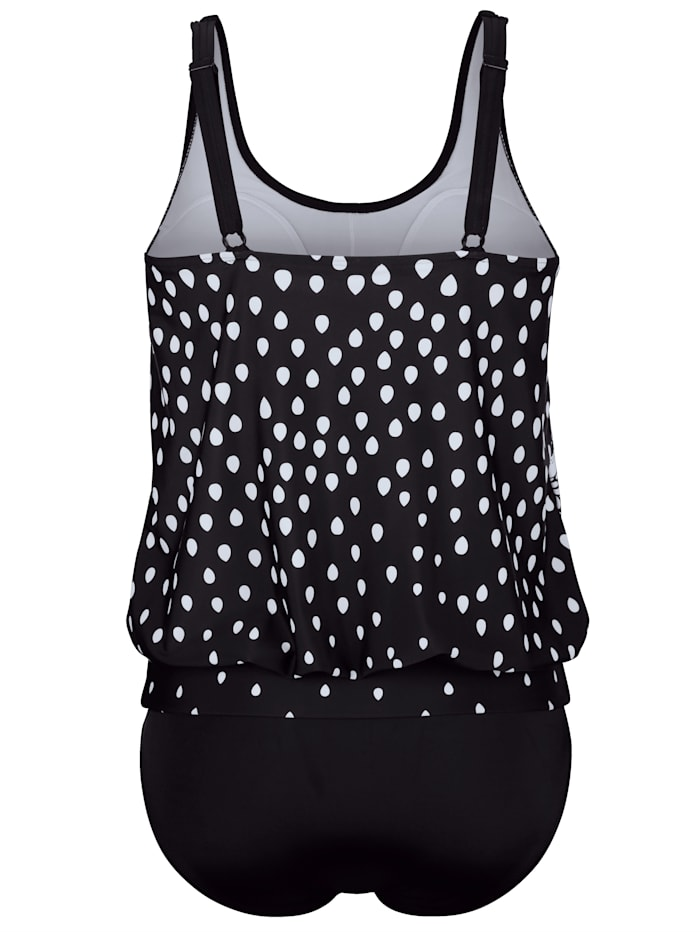 Tankini in an eye-catching print
