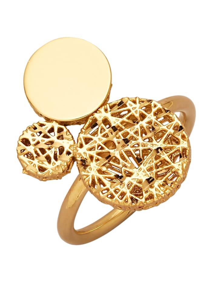 Amara Gold Bague, Coloris or jaune