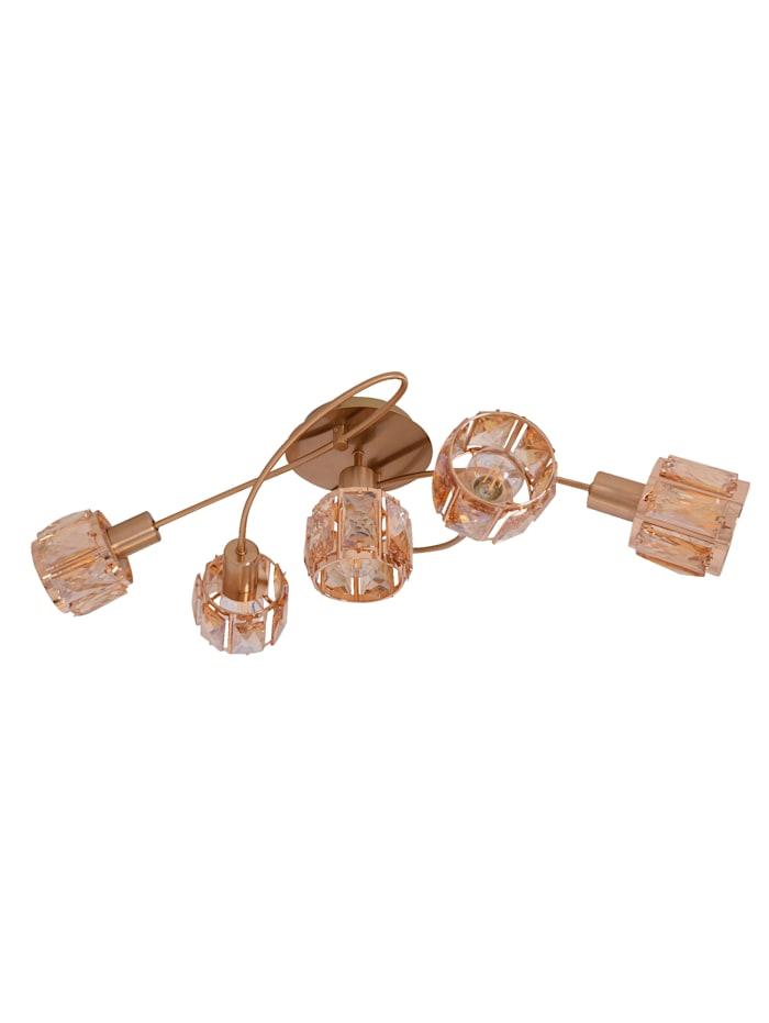 Näve LED-Deckenleuchte 'Annabell', Gold