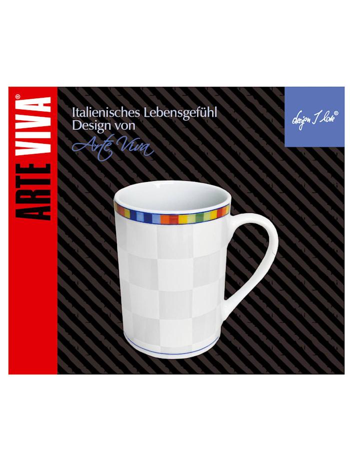 Lot de 6 tasses à café 'Venezia'
