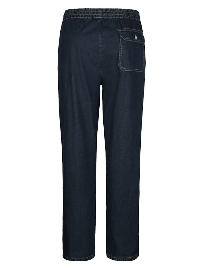 Pantalon à taille extensible avec cordon de serrage