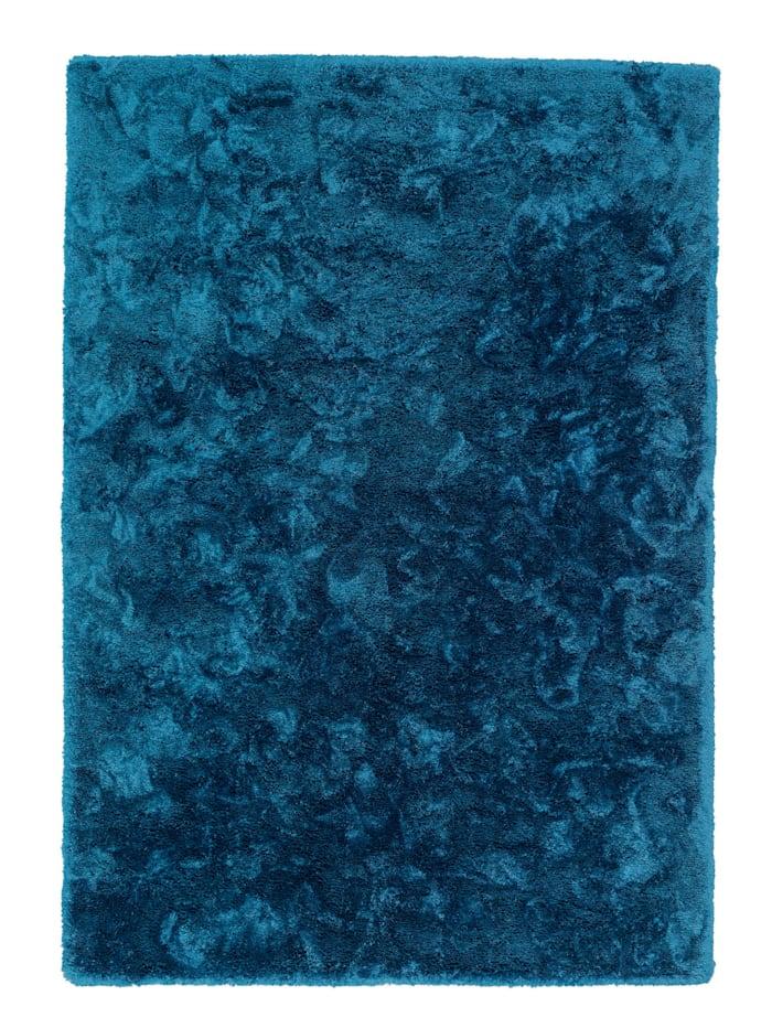 Schöner Wohnen Kollektion Hochflorteppich Harmony, Blau