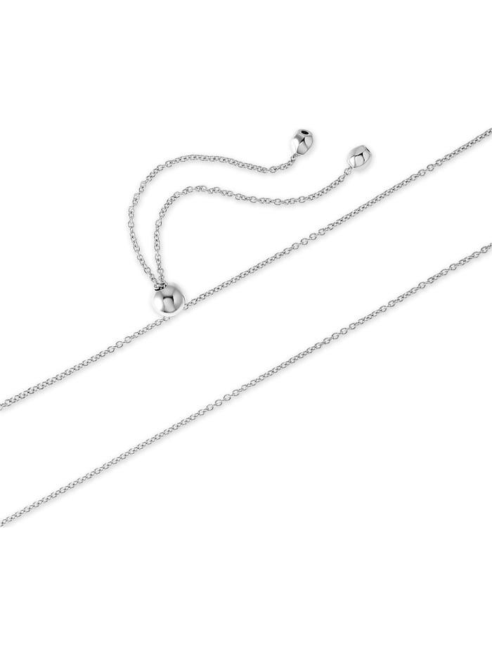 JETTE Damen-Kette 925er Silber 95 Zirkonia