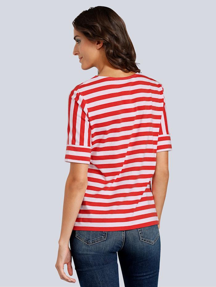T-Shirt im Streifendessin