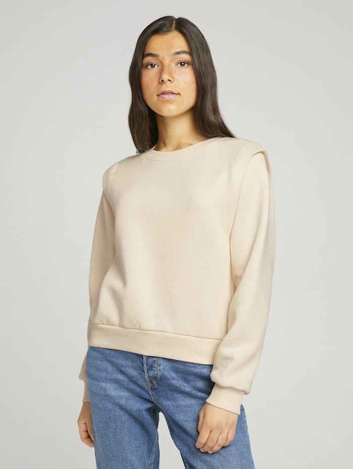 Sweatshirt mit Schulterdetail