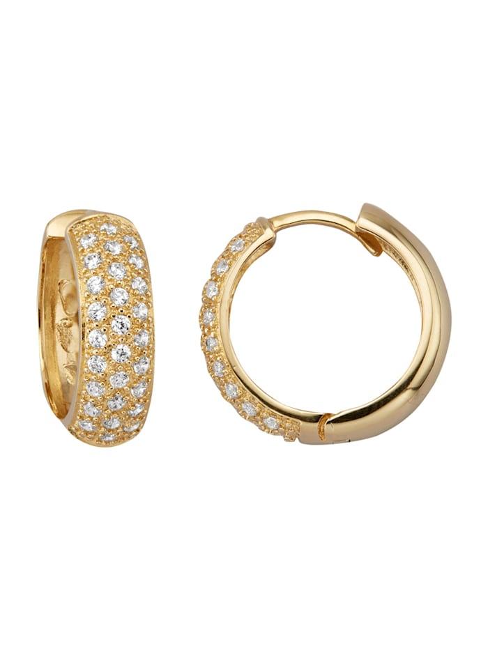 Golden Style Klapcreolen, Geelgoudkleur