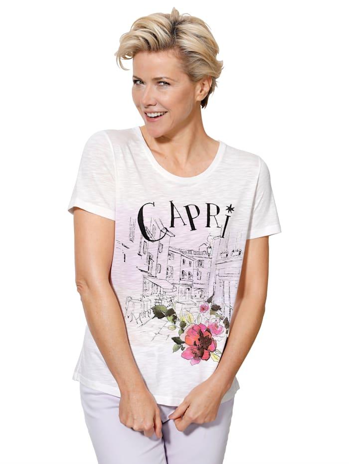 Shirt met charmante print