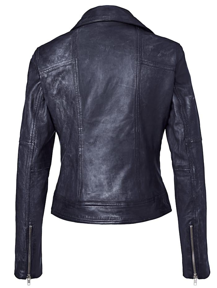 Biker-Jacke mit Nieten