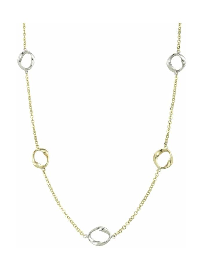 amor Collier für Damen, Gold 375 bicolor, Bicolor