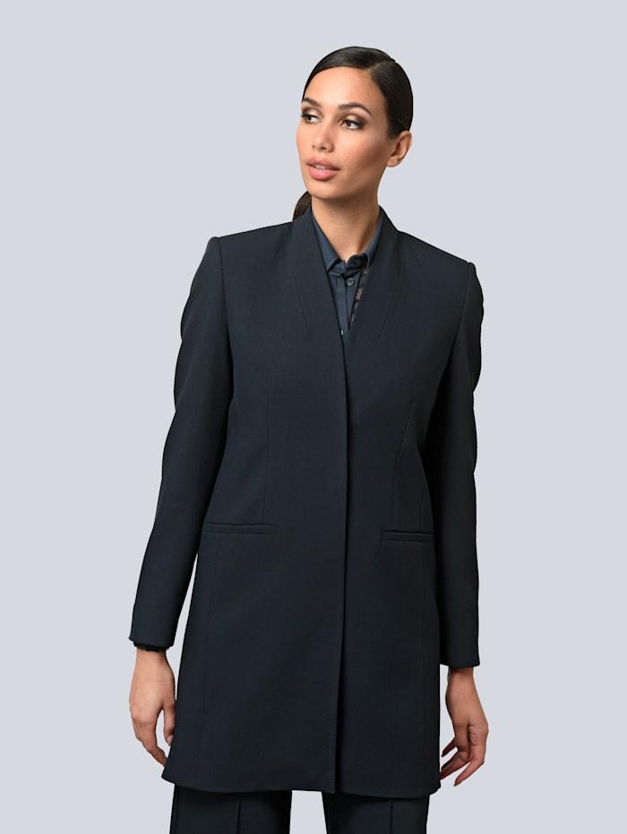 Alba Moda Blazer aus eleganter Ware, Marineblau