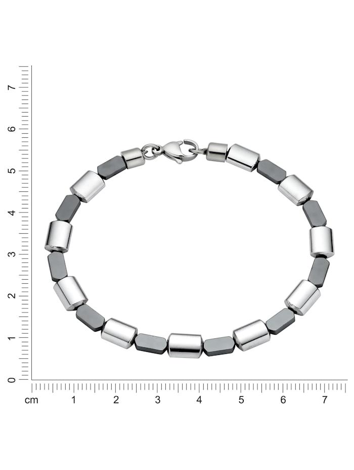 Armband Edelstahl 19cm Glänzend