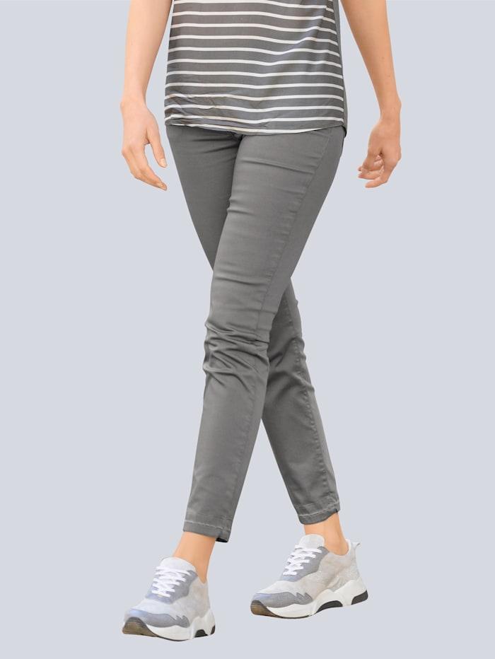 Alba Moda Hose aus elastischer Qualität, Anthrazit
