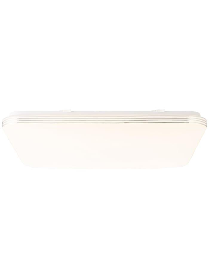 Brilliant Ariella LED Wand- und Deckenleuchte 54x54cm weiß/chrom, weiß/chrom
