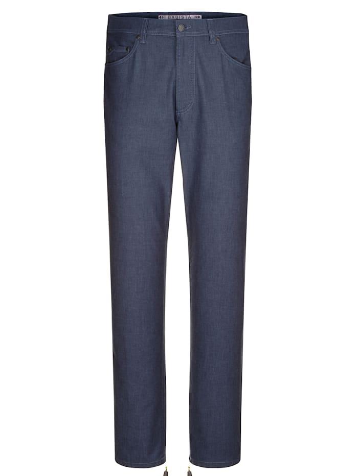 BABISTA Kalhoty v měkké kvalitě, Modrá