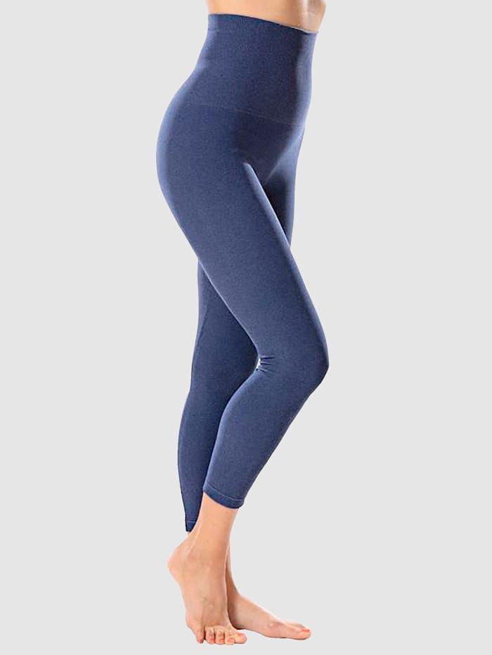 "Janastyle Bauchweg-Leggings ""für ein tolles Körpergefühl"", Blau"
