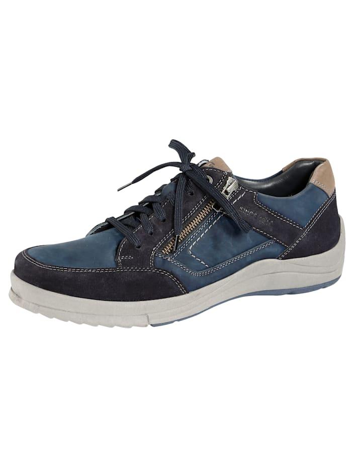 Ara Šněrovací obuv s dodatečným zipem, Námořnická