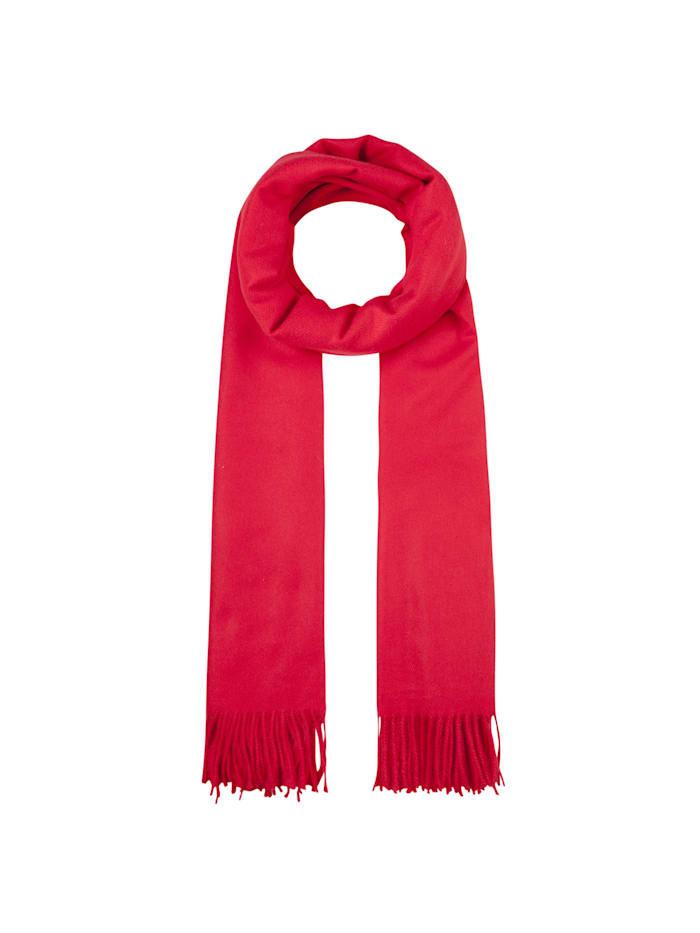 Codello Softer Oversized-Schal mit Viskose, red