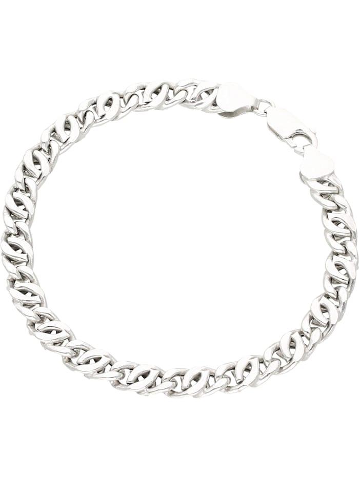 Smart Jewel Armband rhodiniert, glanz, Silber 925, Silber