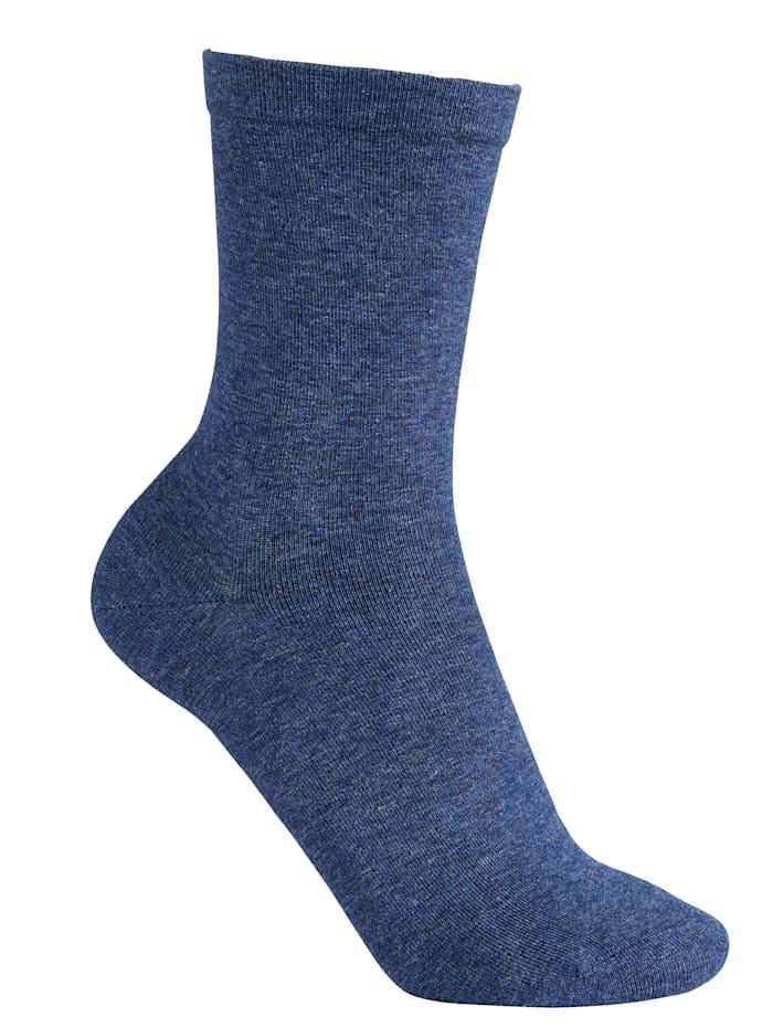 RS Harmony Pehmeäreunaiset sukat 2 paria, farkunsininen