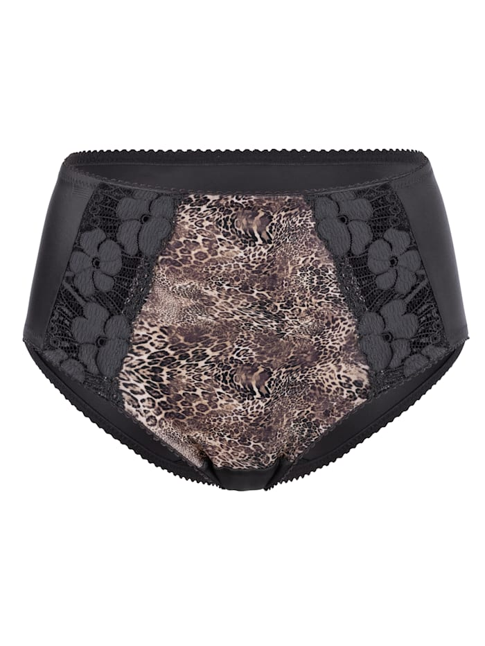 Miss Mary Briefs made from soft microfibres, Brown