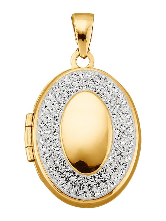 Kultainen medaljonkiriipus