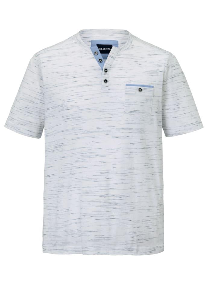 BABISTA T-shirt in vlamgarenlook, Wit