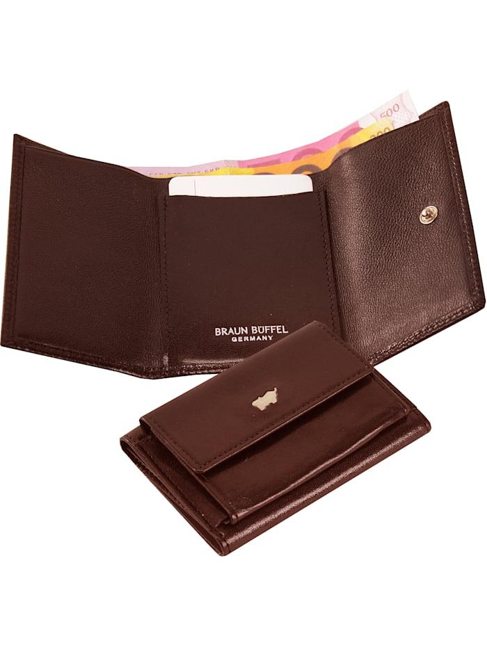 Basic Geldbörse II Leder 9,5 cm