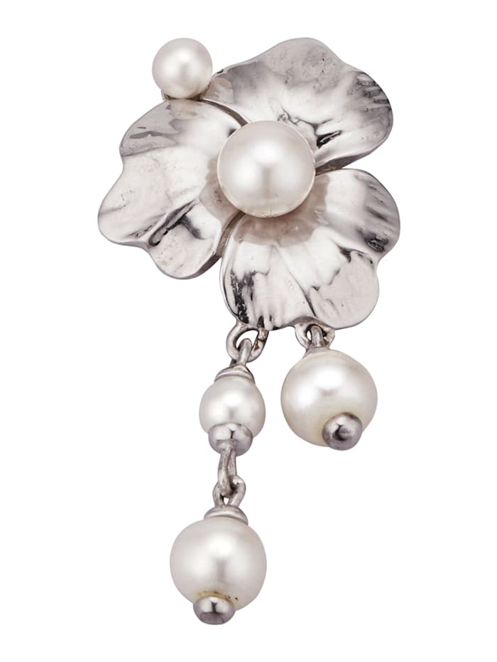 Diemer Perle Anhänger mit Süßwasser-Zuchtperlen, Weiß