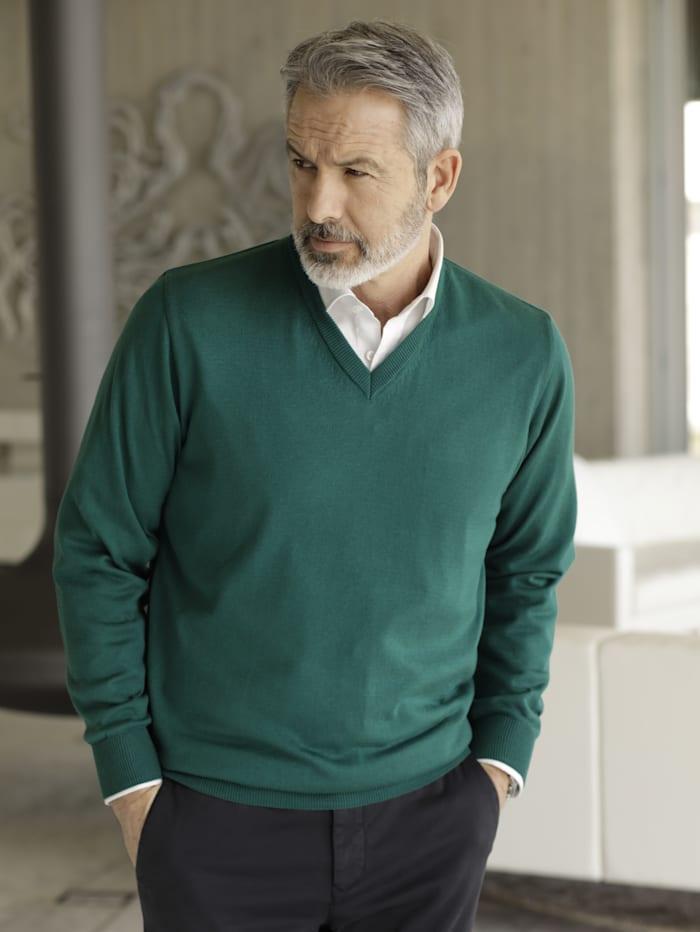 BABISTA Pullover in pflegeleichter Qualität, Grün