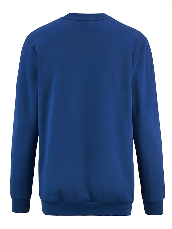 Sweatshirt med mjuk insida