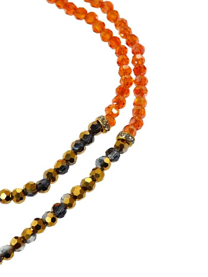 Halskette mit Blatt-Anhänger