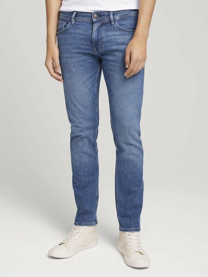 Tom Tailor Denim Slim Piers Jeans, dark stone black denim