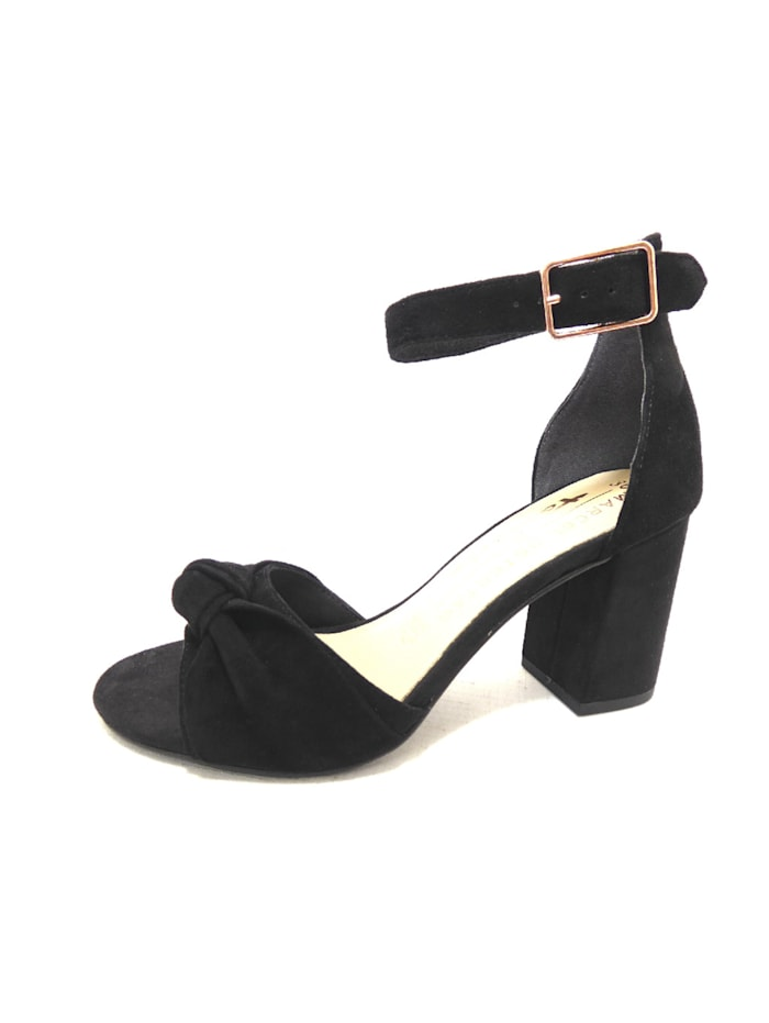 Tamaris Sandalen/Sandaletten, schwarz
