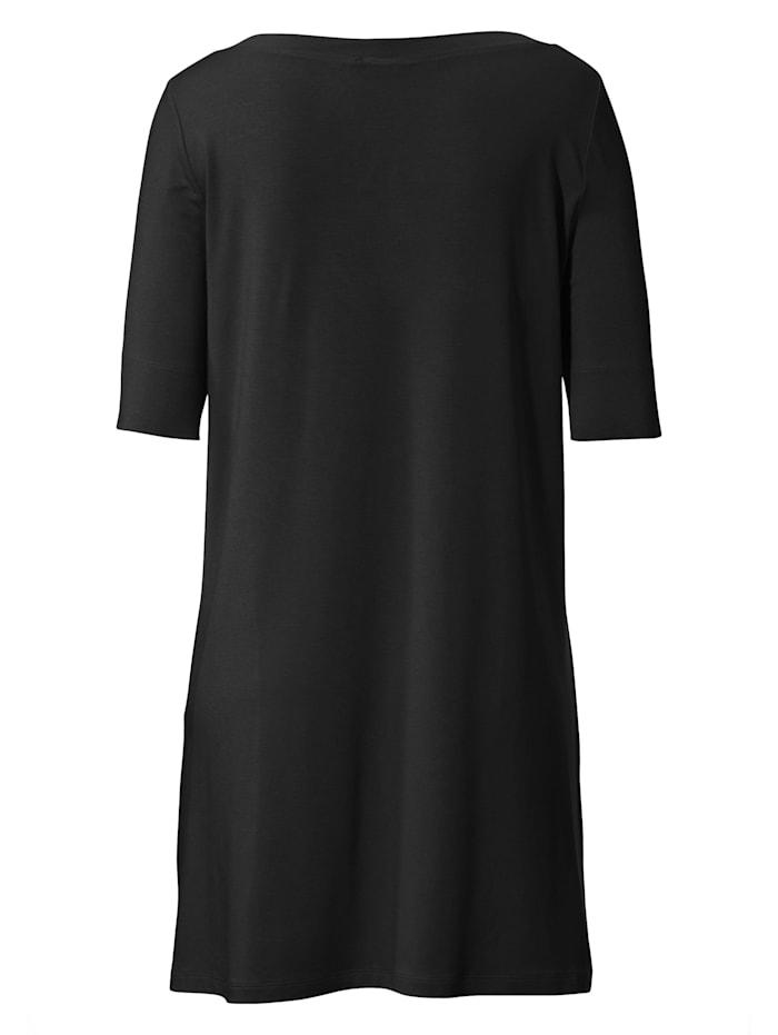 Jersey-Shirt mit 1/2-Arm .