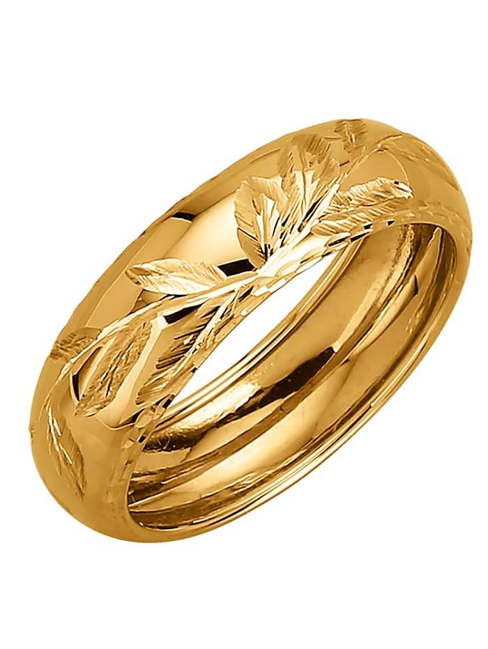 Damenring in Gelbgold