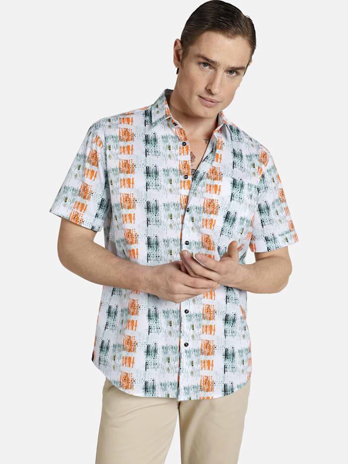 Shirtmaster Shirtmaster Kurzarmhemd icouldbeart, multi-pack