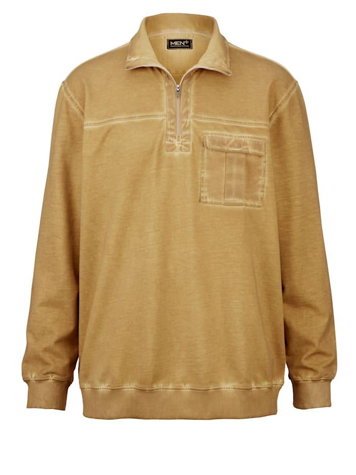 Sweat shirt cool dyed