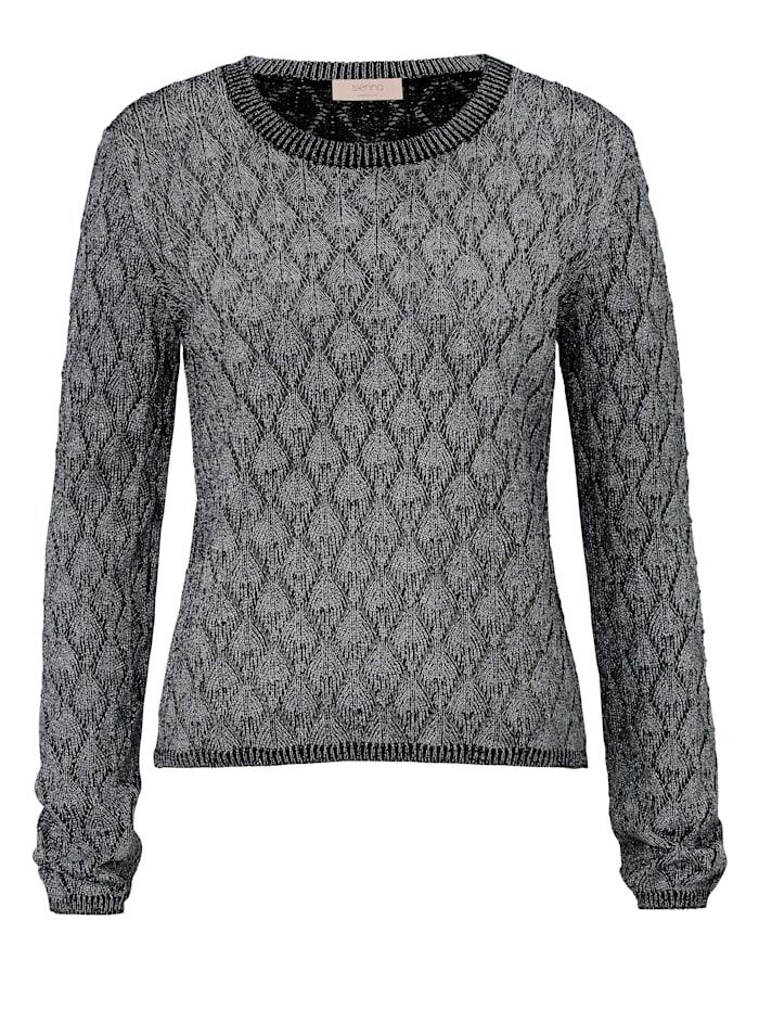 SIENNA Pullover, Silberfarben