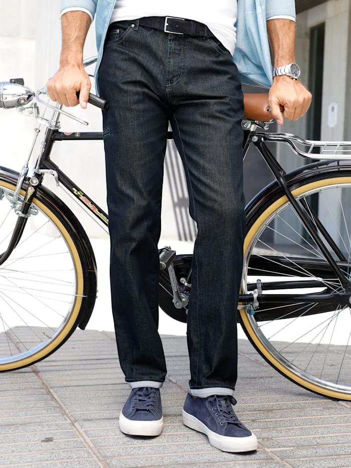 BABISTA Jeans met reflectorband, Donkerblauw
